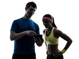 Personal training entre le coach et une adhérente